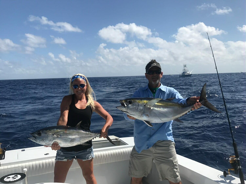 Tuna fishing on the Marathon Hump - Marathon Islamorada Key West