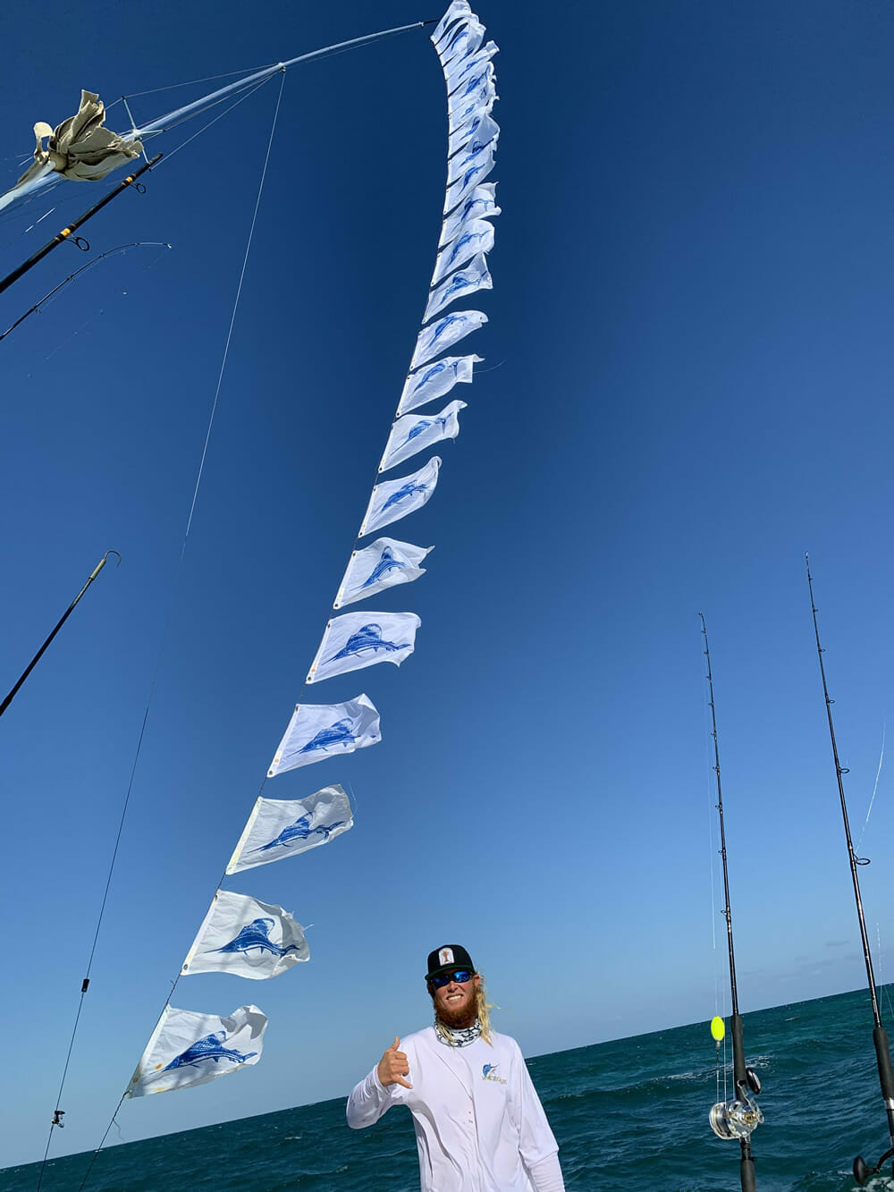 Florida Keys Sailfish Flags