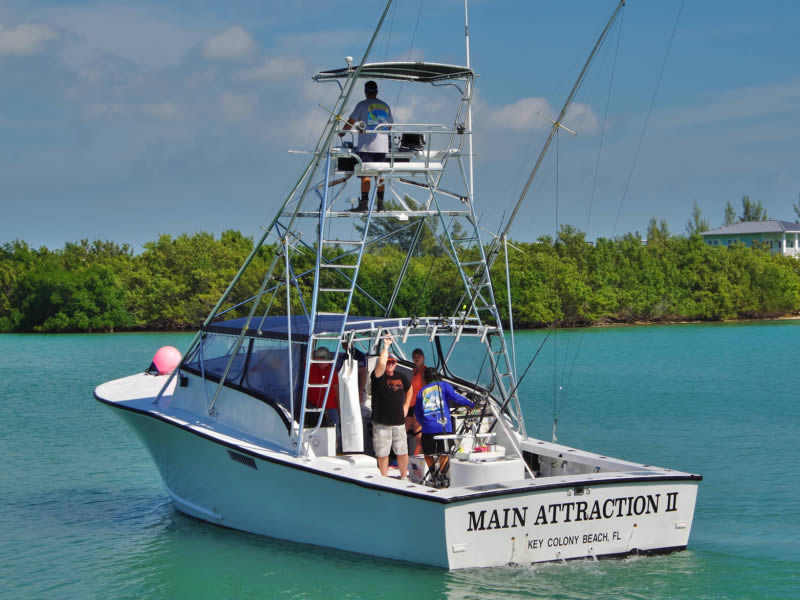 Florida Keys Fishing Charter Boat