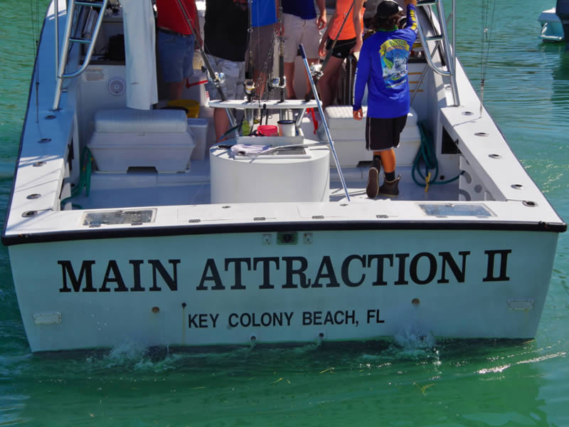 Main Attraction II Transom