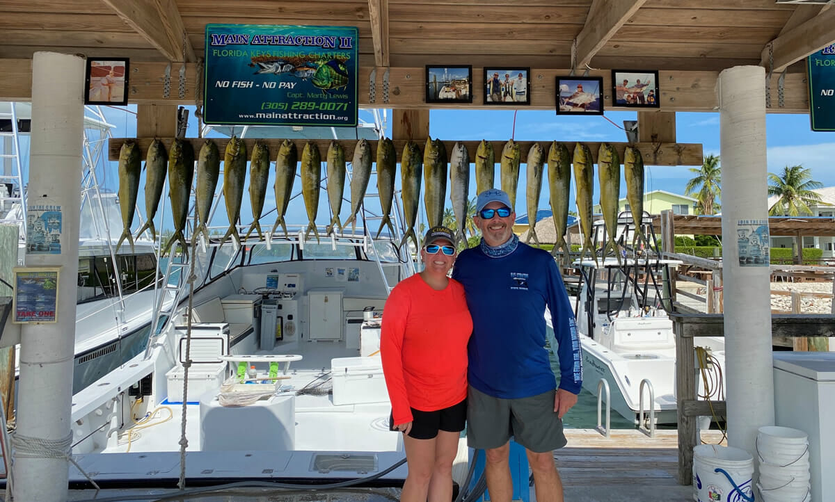 Keys Dolphinfish Catch