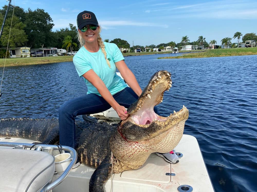 Florida Gator Hunting