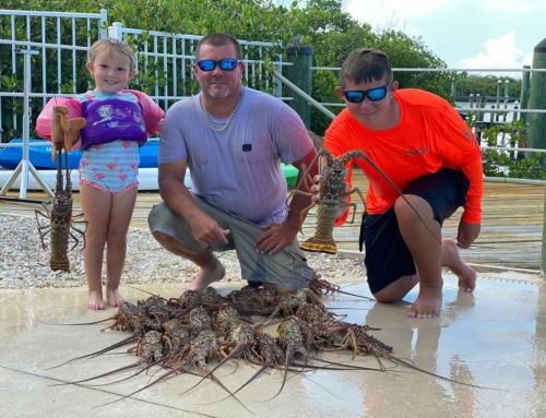 Lobster Mini Season 2021 Monroe County, Florida Keys